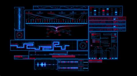 sci fi interface hud package 2 technology after effects