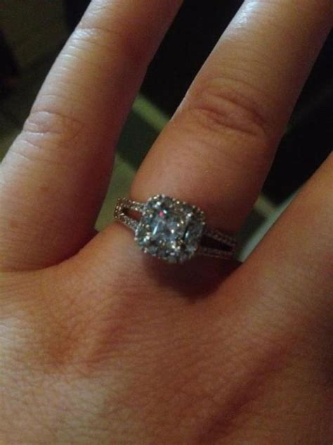 Size 7 to 8 fingers with .5 to 1 carat ring pics   Weddingbee