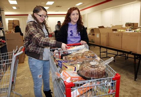 Vernon Township Food Pantry by Egg Harbor Township High School Gives Some Students Who