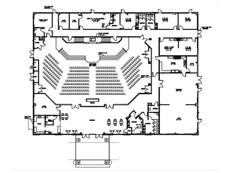 floor plan of a church church plan source home church floor plan design