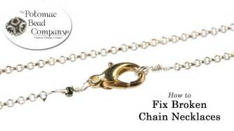 how to fix broken chain necklaces jpg