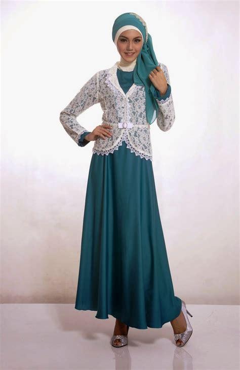 18 Kumpulan Model Baju Muslim Terkini 2018   Gambar Busana