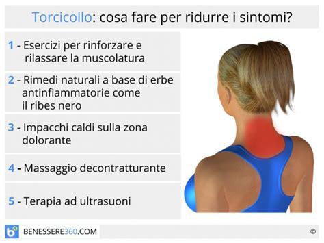 infiammazione testa per il collo esercizi per eliminare il dolore