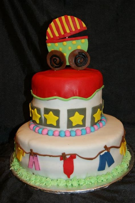 Unisex Baby Shower Cake by Baby Shower Cakes Baby Shower Cake Ideas Unisex