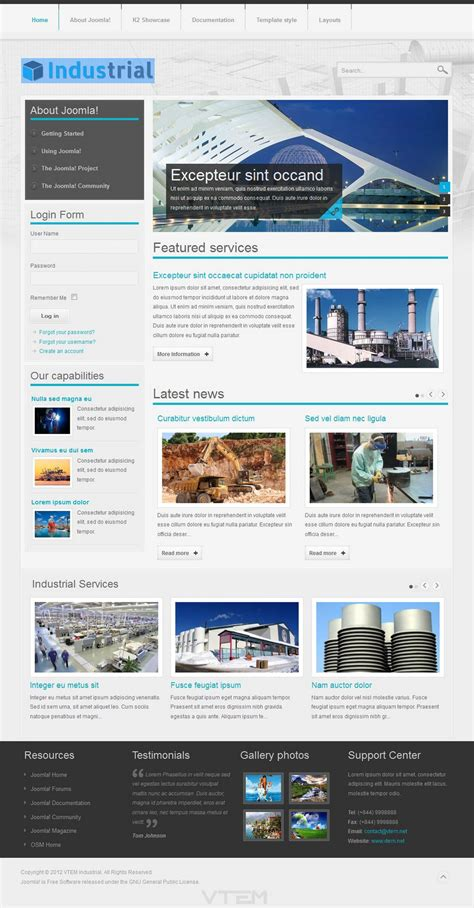 industrial template vt industrial template vn