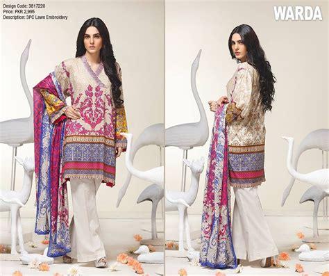 Make Up Warda warda lawn collection 2017 new catalogues