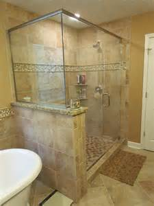 lowes bathroom tile ideas kraftmaid sonata cherry harris traditional bathroom