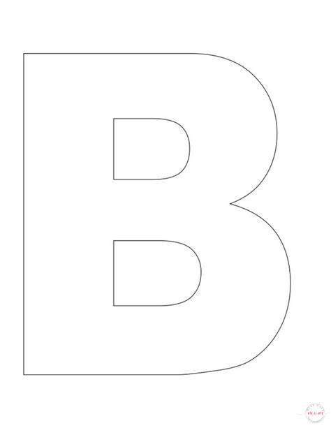 letter b template letter of the week letter craft letter b is for buttons