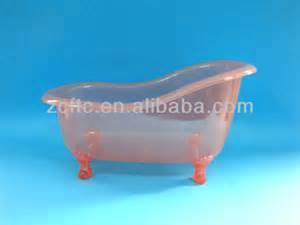 plastic container for bath gift set plastic mini bathtub