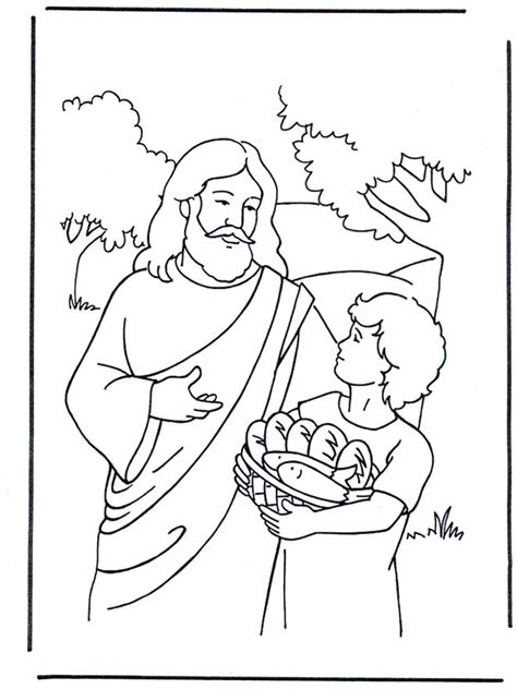 J For Jesus Coloring Page by 28 Best Jesus Feeds The 5000 Images On