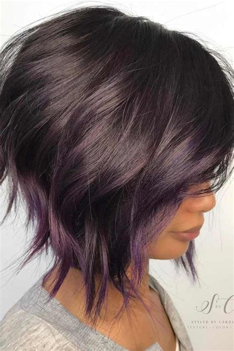 highlights for black hair and layered for ladies over 50 25 best ideas about short hair colors on pinterest
