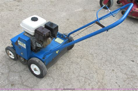 Landscape Power Rake For Sale Blue Bird 520 Lawn Comber Dethatcher Power Rake Item
