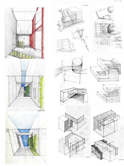 design concept architecture exles m hahn design sketches architecture and school