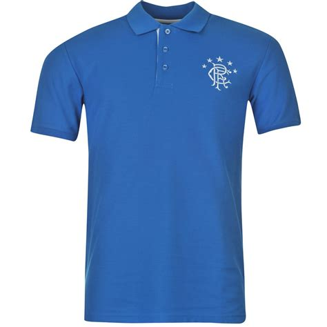 Shirts C 14 16 17 by Glasgow Rangers Fc Team Polo Shirt Mens Royal