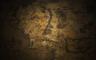 map wallpapers map of middle earth wallpapers wallpaper cave