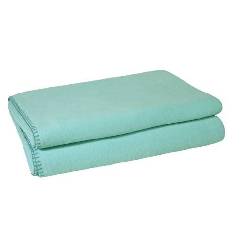 Zoeppritz Soft Fleece Decke Mint (Zoeppritz Decken