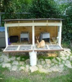 How To Build Your Own Rabbit Hutch rabbit cage plans to build image mag