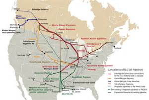 pipelines in canada map what are the increased risks from transporting tar sands
