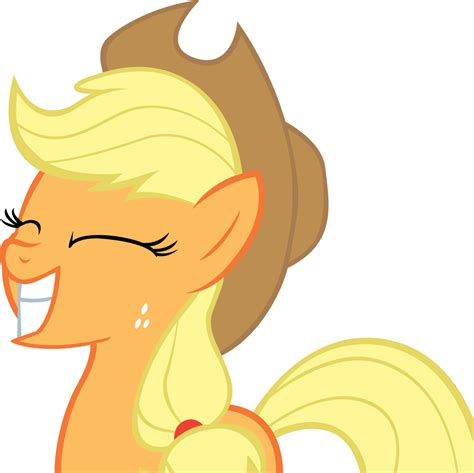 applejack images applejack grin by moongazeponies on deviantart