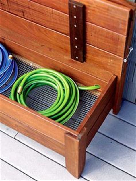 Garden Hose Storage Ideas Garden Hose Storage On Pinterest Hose Storage Hose Holder And Hose Reel