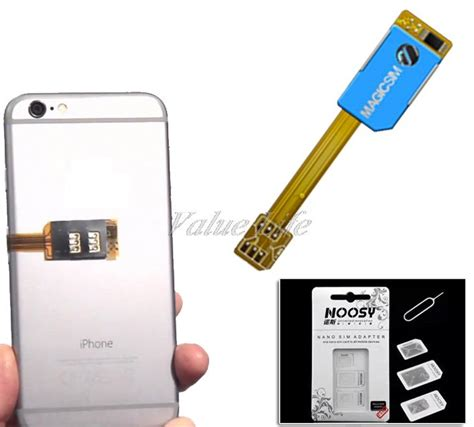 Converter Dual Sim Card Konverter Dual Sim Card Nano Ko Limited dual sim card adapter slot for for iphone 5s 6 6plus 2g 3g support 4 in 1 nano sim card tool