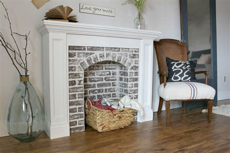 remodelaholic  gorgeous diy faux fireplaces  mantels