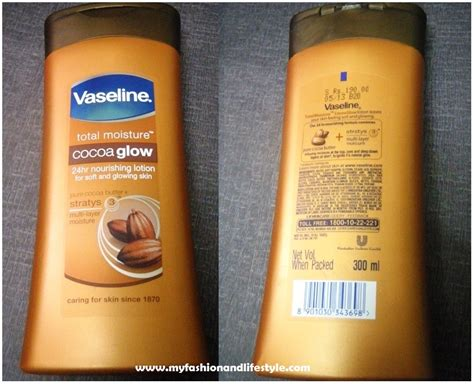 can i use vaseline on my tattoo vaseline cocoa glow nourishing lotion review