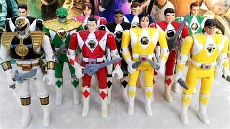 power ranger names and colors epic vintage mighty morphin power rangers figure