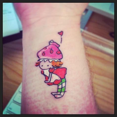 strawberry shortcake tattoo designs strawberry shortcake from a sketch by cook done