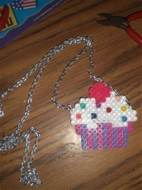 how to make perler without a pegboard perler necklaces 183 a pegboard bead pendant 183 pegboard on