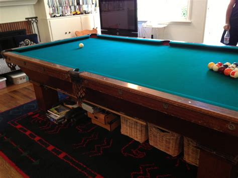 pool table for sale used brunswick pool tables for sale used 8 brunswick pool