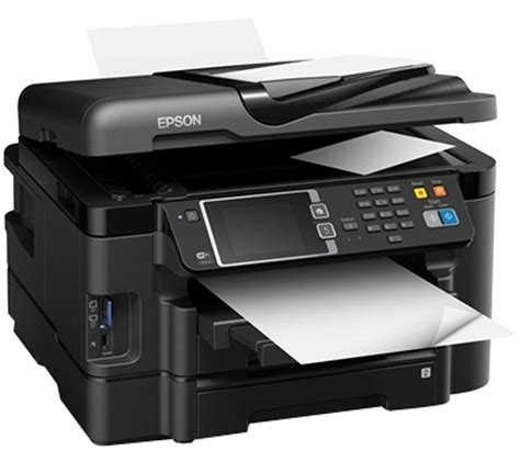 Printer Epson All In One Murah epson workforce wf 3640dtwf all in one wireless inkjet printer with fax deals pc world