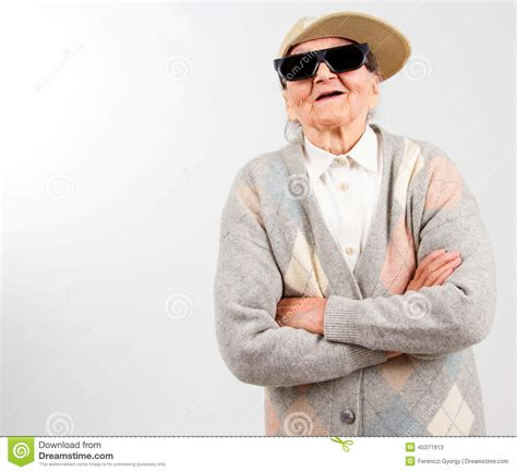 cool stock cool grandma stock image image of funny accessories
