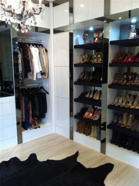 Contemporary Cool Dressing Room W Lit Shoe Storage Dressing Room Chandeliers