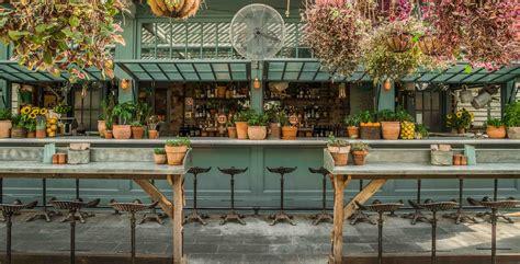 Potting Shed Bar kaper design restaurant hospitality design inspiration the potting shed