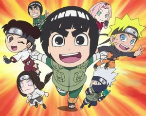 naruto blazing hot blooded youth rock lee s springtime of youth manga tv tropes