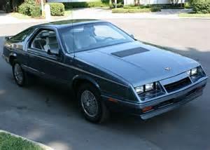 84 Chrysler Laser Ebay Find 1984 Chrysler Laser Turbo Mopar S Answer For