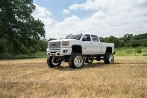 Big Wheels Spray Truck For Sale 104 2015 Gmc 2500 Denali Diesel White