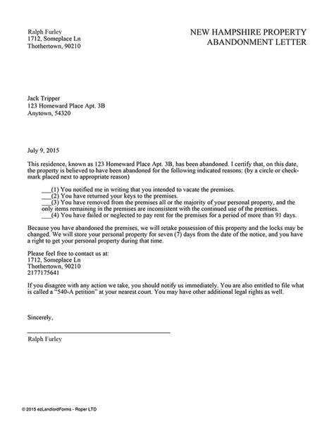 certification letter of tenant certified letter from tenant 28 images 30 day vacate