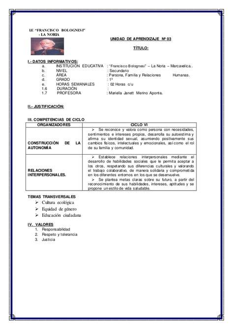 competencias de pfrh unidades de aprendizaje pfrh 1 186