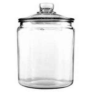 Clear Glass Canisters For Kitchen anchor heritage glass jar 1 gallon target