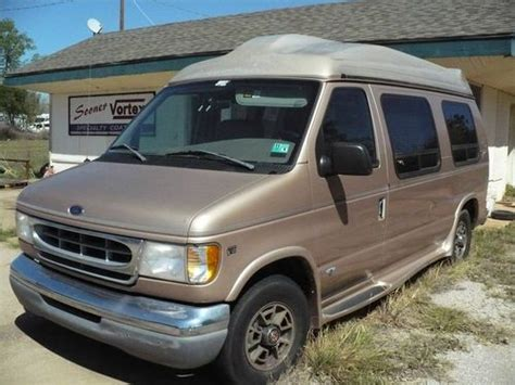 how make cars 1998 ford econoline e150 electronic throttle control purchase used 1998 ford e 150 econoline mark iii custom van in comanche oklahoma united states