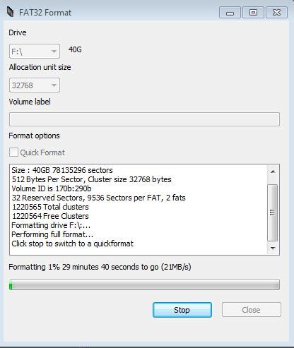 format fat32 tool windows 7 format external drive fat32 using windows 7 xp or vista