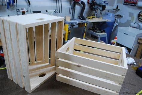wood crate woodlogger