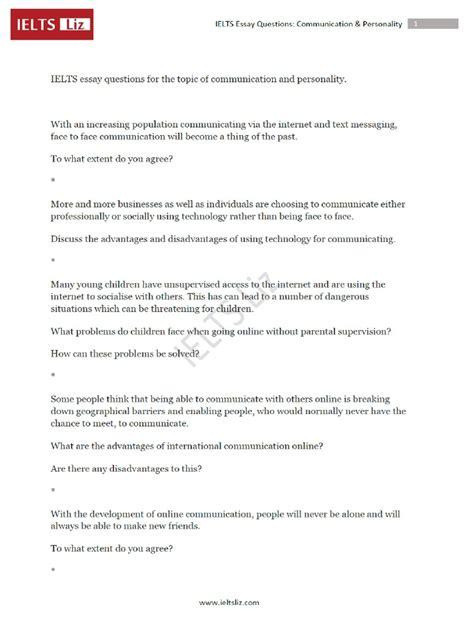 Ielts Essay Question by Ielts Essay Topics Get Ielts Essay Topics Store Exle Of Ilets Writing Essay Workshop Exle