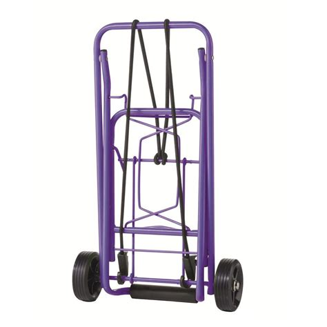 travel smart cts folding purple luggage cart ts36pur the