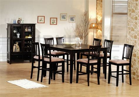 8 chair dining room set dining chairs 50cm seat height 187 gallery dining