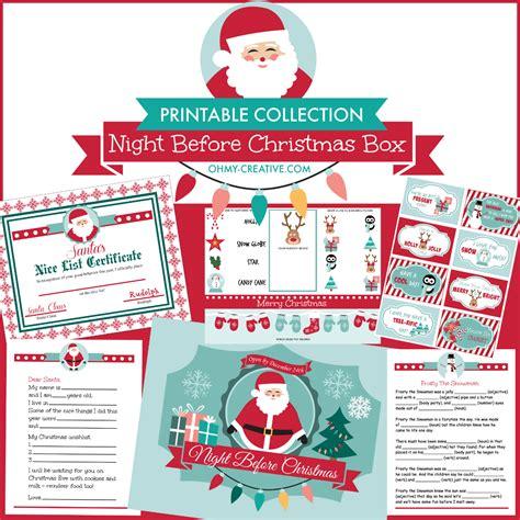 printable christmas eve box you ve been boo zed free printable oh my creative