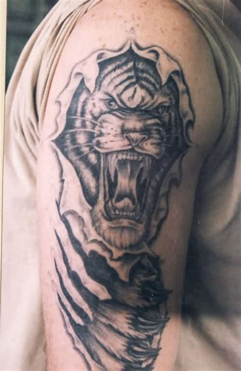 tribal rip tattoos tribal and angry tiger tattoos for 187 ideas