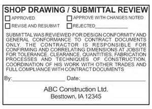 shop drawing log template shop drawing submittal review st gogetsts